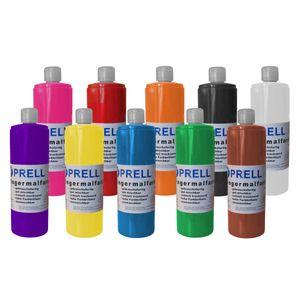 10er Set Fingermalfarbe von Prell
