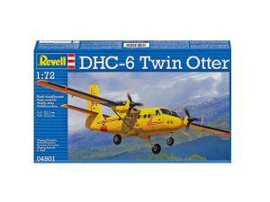Revell DHC-6 Twin Otter, 1:72, Montagesatz, Flugzeugzelle, Passagierflugzeug, De Havilland Canada DHC-6 Twin Otter, Kunststoff