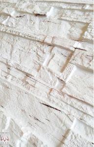 PVC-Verkleidung PVC FLIESEN Wandverkleidung Wandblender Wandpaneelen Stein(0,25qm)
