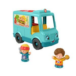 Fisher-Price Little People Burger Truck, Spielfiguren, Musik-Spielset