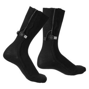 Beheizbare Socken, Beheizte Socken für Männer/Frauen Wiederaufladbare Waschbare 2020 Neueste wärmesocken 3 Wärmeeinstellungen fußwärmer Größe: Lang