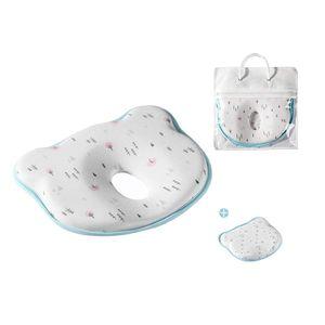 Babykissen 6-18 Monate Gegen Plattkopf und Kopfverformung Memory Foam Neugeborene Kissen (Wald)