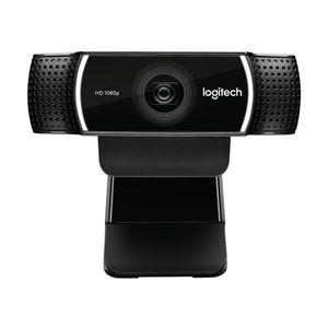 Logitech C922 Pro Stream Webcam Full HD 1920 x 1080 30f/s Zwei Mikrofone USB