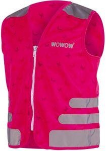 Wowow sicherheitsjacke Nutty junior polyester rosa