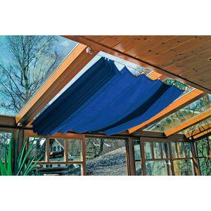 Windhager '270x140cm' Markise / Sonnensegel für Seilspanntechnik, 270 x 140 cm, dunkelblau (1 Stück)