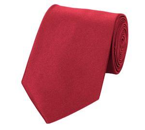 Unifarbene Krawatten von Fabio Farini, klassische Breite 8cm, perfekt für besondere Anlässe wie Hochzeiten und Weihnachten, oder für´s Büro, Krawatten8cmSet1:Hellrot