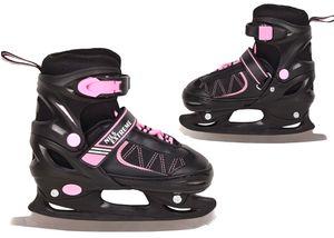 Kinder Damen Eislaufschuhe Schlittschuhe größenverstellbar NF7103A Nils, größe 30-33