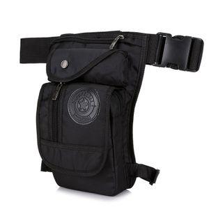 Multifunktionale und modische Beintasche aus Nylon für Wandern, Outdoor-Reisen und Sport, praktische Hüfttasche und Beintasche