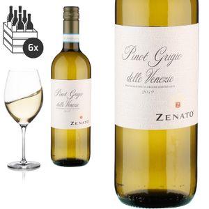 6er Karton 2019 Pinot Grigio delle Venezie von Zenato Azienda Vitivinicola - Weißwein