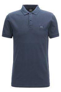Hugo Boss Prime Herren Poloshirt, Farbe:Blau, Größe:XL