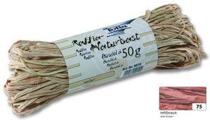 folia Raffia-Naturbast 50 g rehbraun