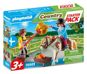 PLAYMOBIL Country 70505 Starter Pack Reiterhof Ergänzungsset
