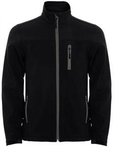 Herren Antartida Softshell Jacket, Wasser- und Windabweisend - Farbe: Black 02 - Größe: 3XL