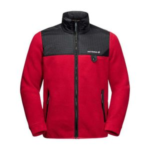 JACK WOLFSKIN DNA GRIZZLY M 2102 red lacquer L