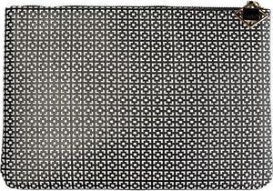 Auri AURI_Simple Black & amp; Weiße Kosmetiktasche großer Umschlag