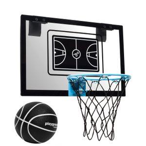 Tailwind Basketballkorb Indoor Playground Hoop mit Ball (45 x 30cm) ideal fürs Zimmer oder Arbeitsplatz mit robusten Polykarbonat Backboard und 3-lagigem Nylonnetz