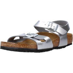 Birkenstock Mädchen Sandalen in der Farbe Silber - Größe 34