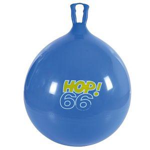 Hüpfball, Sprungball, Hopsball, Springball, Hopser ø 65 cm, blau
