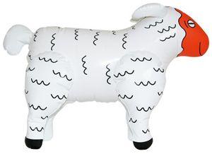 Aufblasbares Schaf - Dolly das scharfe Schaf