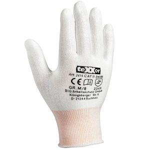 Texxor Schnittschutzhandschuhe ohne Beschichtung 2414, Größe:M