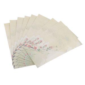 Briefumschlag, Postkarten Umschlag, Kraftpapier, Chinesisches Malerei Muster, Set of 20pcs, Briefhüllen