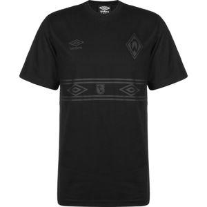 Umbro SV Werder Bremen Stealth T-Shirt Herren Erwachsene schwarz L