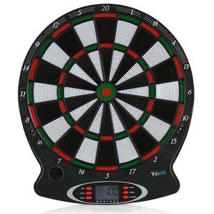 Elektronisch Dartscheibe Dartautomat Dartscheibe mit 6 Darts Profi Dartspiel Mit LCD Scoring Display Sicher langlebig Unzählige Spielvarianten