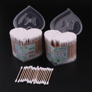 600 Stück Pflegestäbchen / Wattestäbchen Ohrenstäbchen Baumwolle, in , für Kinder & Erwachsene
