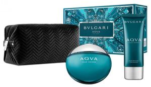 Bvlgari Aqva Pour Homme 100 ml EDT + 100 ml After Shave Balm + Beutel