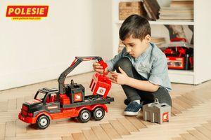 MAMMOET Müllwagen Truck LKW Kinderspielzeug Fahrzeug Müllauto Sandspielzeug