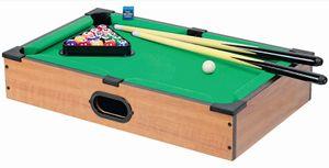 Mini-Billiard Holz  50x30,5x8,5 cm