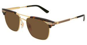 Gucci Sonnenbrillen GG0287S 003 Braun Unisex
