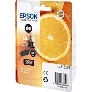 Epson EPSON® Tintenpatrone T33614020 33 XL photo schwarz Blister 400 Photos