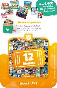 tigerticket 12 Monate - Tigermedia Ticket