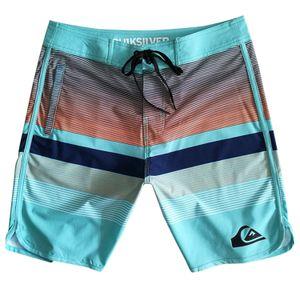 Quiksilver Männer-Badehose Herren Badeshorts Jungen Swim Shorts Men Swimming Sporthose Kurze Hose Schnelltrockend Sport Schwimmhose Blau,34