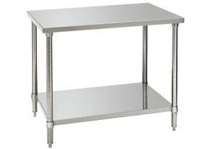 Arbeitstisch mit Bodenbord 1000 mm breit