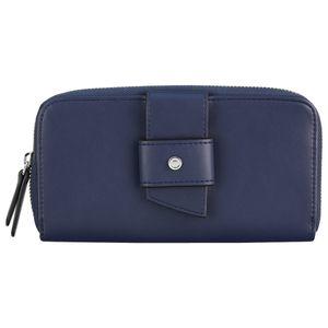 s.Oliver Reißverschluss Geldbörse Portemonnaie 39.903.93.5604, Farbe:Blau