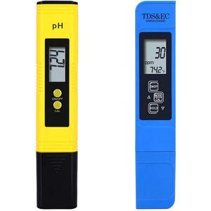PH- und TDS / EC-Messgerät, PH- und PPM-Messgerät kombiniert, pH-Testmessgerät für Wasser, Schwimmbad-Testkit, PH-Messgerät für Wasserhydroponik