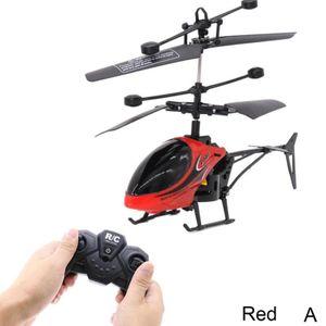 Rot (A) $ 2-Wege-Fernbedienung Flugzeug Fernbedienung Hubschrauber mit Licht und splitterfrei Kinderspielzeug-Modell