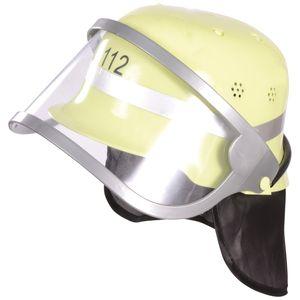 EDUPLAY 150108 Feuerwehrhelm, Kunststoff, 25,5 x 21 x 13 cm, beige
