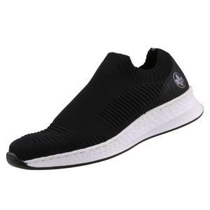 rieker Damen Sneaker Schwarz Schuhe, Größe:41