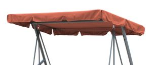 Grasekamp Ersatzdach Universal Hollywoodschaukel  Terra Ersatz-Bezug Sonnendach Dachplane