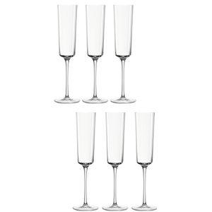 Leonardo Nono Sektglas 6er Set Sektkelch Champagnerglas Proseccoglas Glas 170 ml