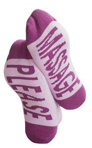 Clark Crown® Under-Statement-Socks mit lustigen Sprüchen 36-40 Massage Please