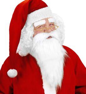 Weihnachtsmannbart & Augenbrauen
