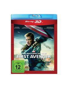 Return of the First Avenger (BR) -3D2D- Min: 136DD5.1WS  2Disc, ersetzt LE