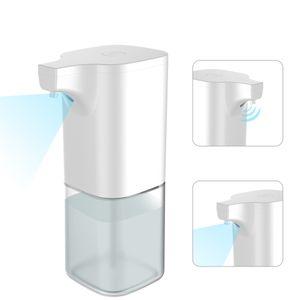 X6 350ml Automatischer Seifenspender IR-Sensor Schaum Flüssigkeitsspender Wasserdichte Handwaschmaschine