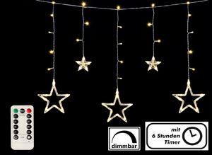 Sternenvorhang 138 LED - Batterie betrieben mit Fernbedienung