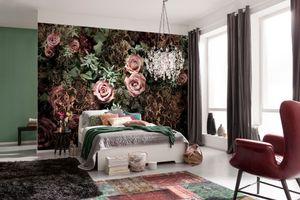 """Komar Fototapete """"Velvet"""", rosa / braun, 368 x 254 cm"""