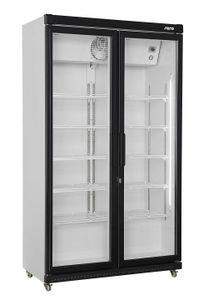SARO Getränkekühlschrank mit Glastür, 2-türig Modell GTK 850 OC